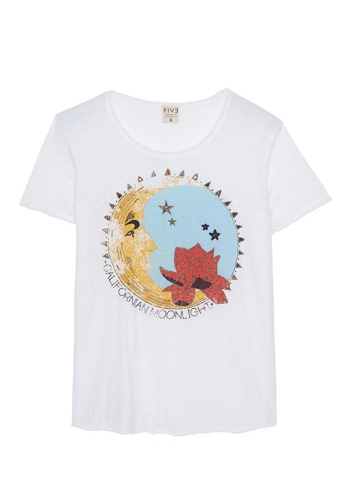 Five Moon Face T-Shirt