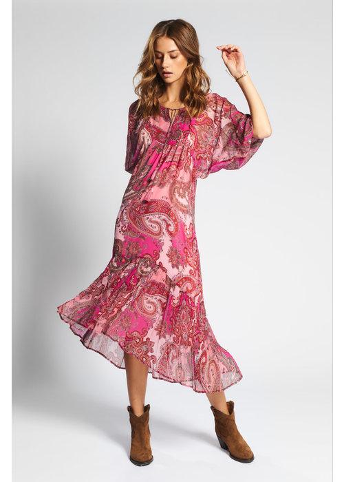 MOLIIN Moliin Mariam Paisley Maxi Dress