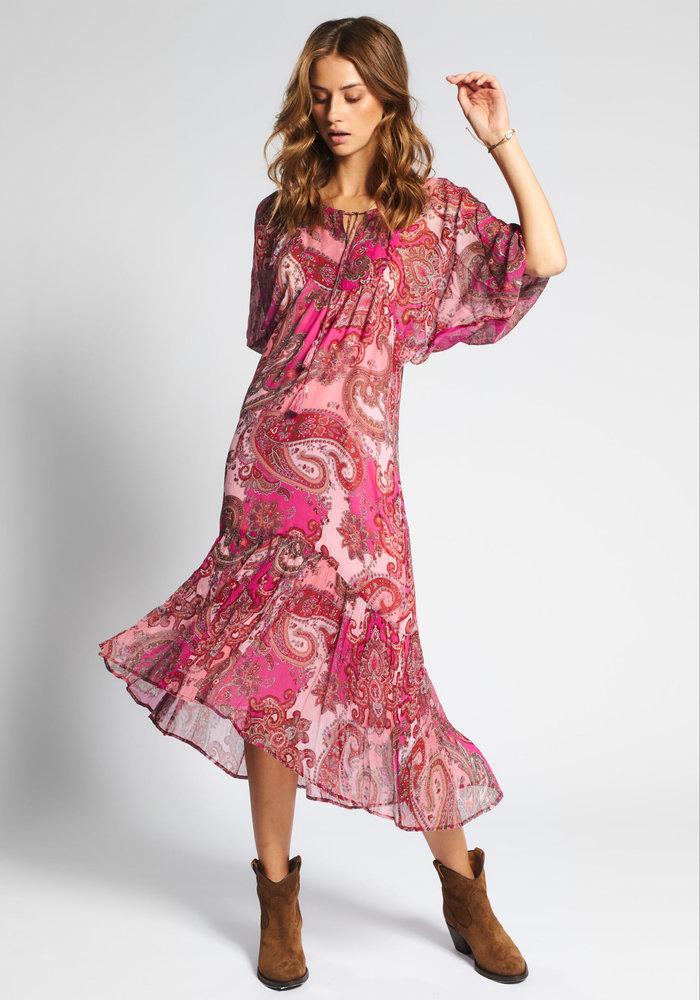 Moliin Mariam Paisley Maxi Dress