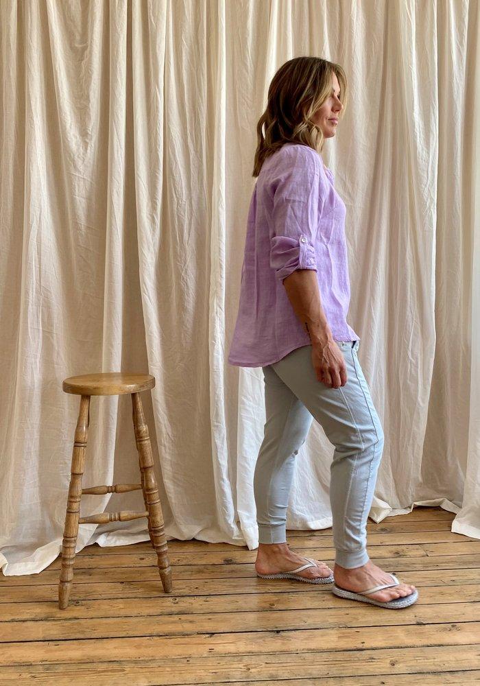 Suzy D Lena Linen Shirt