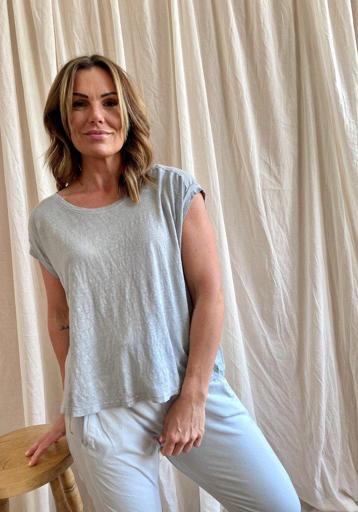Suzy D Lorenzo Linen T Shirt