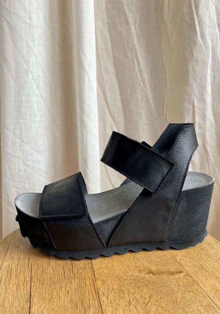 Lofina Wedge Platform Sandals