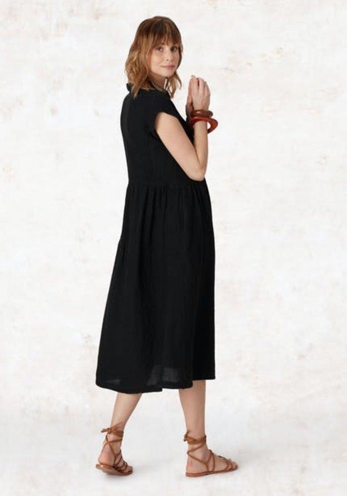 Sahara Organza Linen Shirt Dress