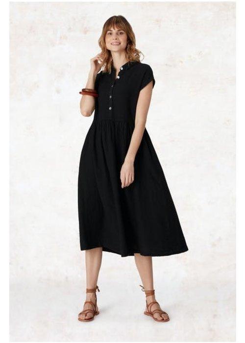 SAHARA Sahara Organza Linen Shirt Dress