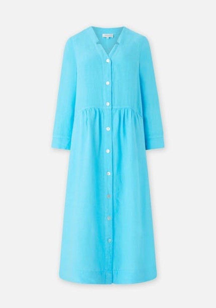 Sahara Long Sleeve Linen Shirt Dress