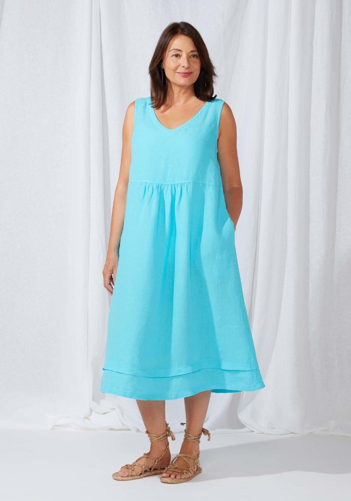 Sahara Organza Sleeveless Dress