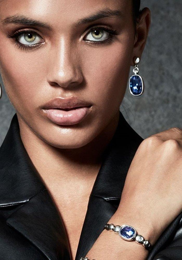 "Uno De 50 ""Magic"" Blue Swarovski Bracelet"