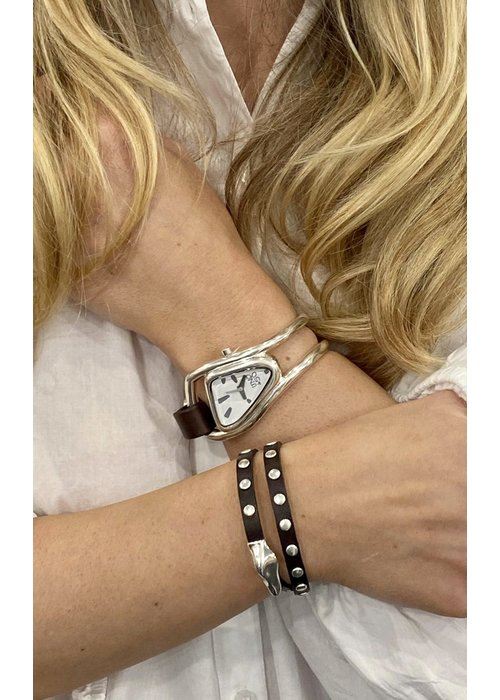 "UNO DE 50 Uno De 50 ""My Duck"" Leather Bracelet"