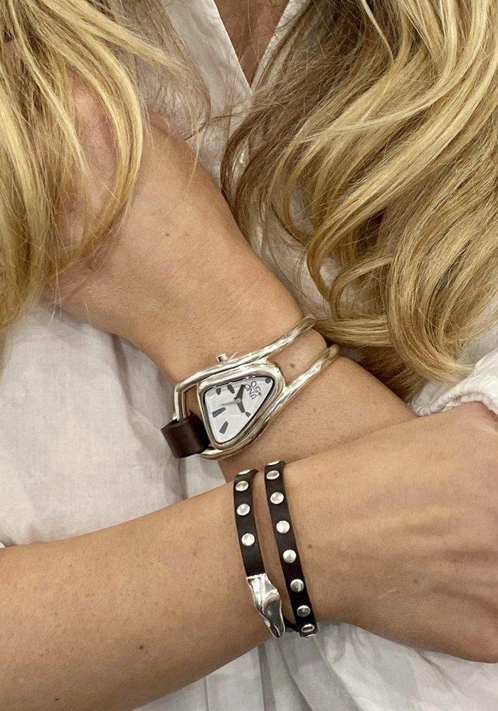 "Uno De 50 ""My Duck"" Leather Bracelet"
