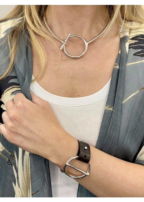 """UNO DE 50 Uno De 50 """"Switch On"""" Collar Necklace"""