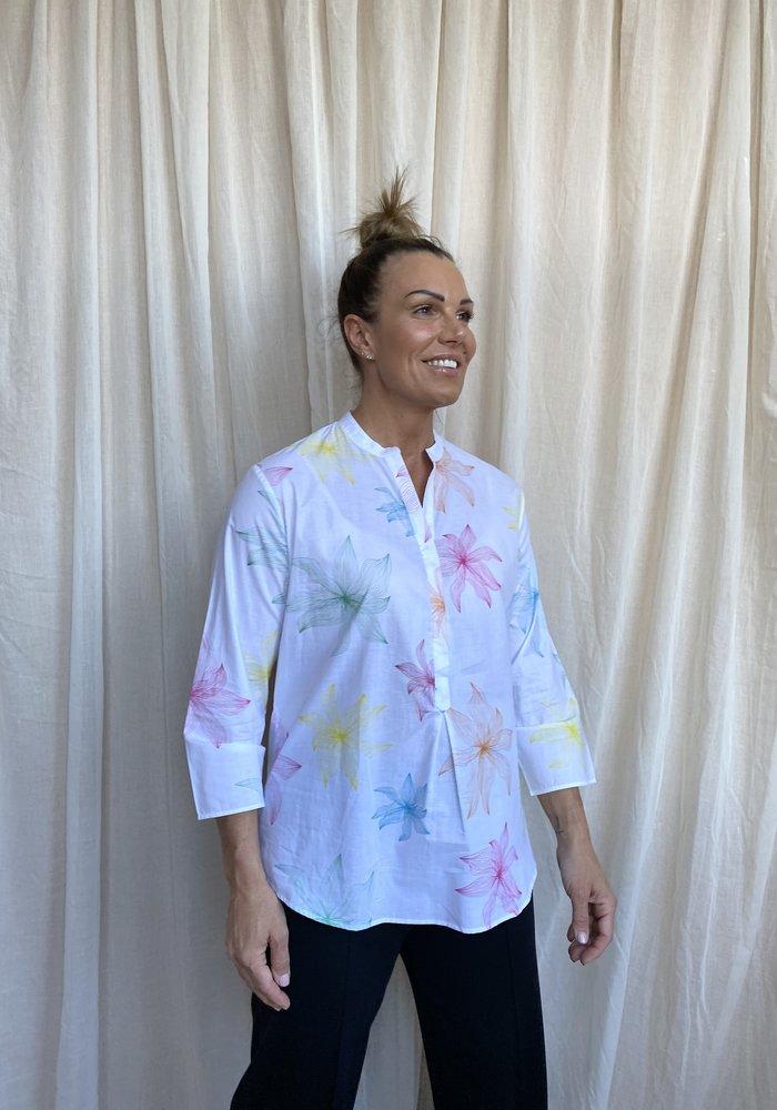 Vilagallo Martha Printed Shirt
