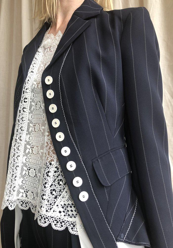 High Tech Ultimatum Pinstripe Jacket