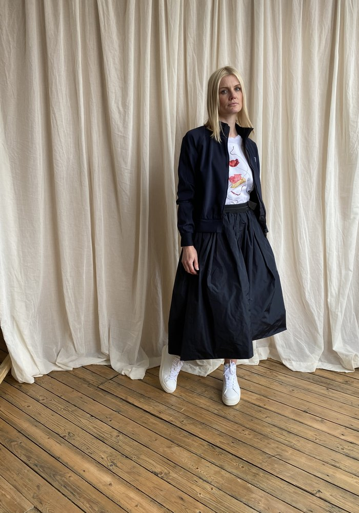 High Tech Hypnotic Taffeta Skirt