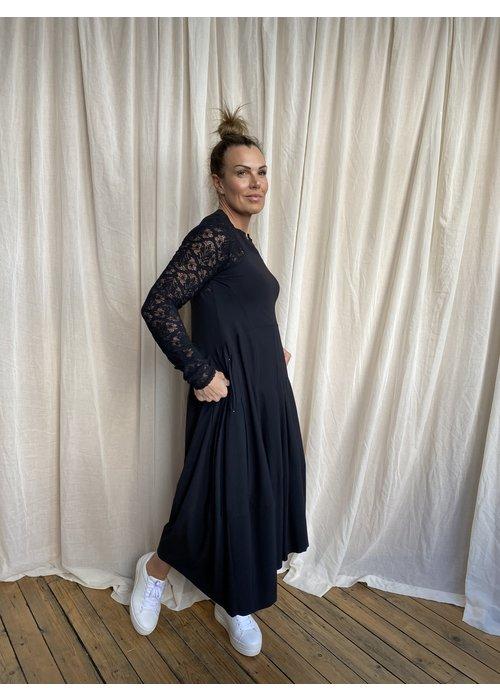 HIGH High Tech Mesmerise Lace Sleeve Dress