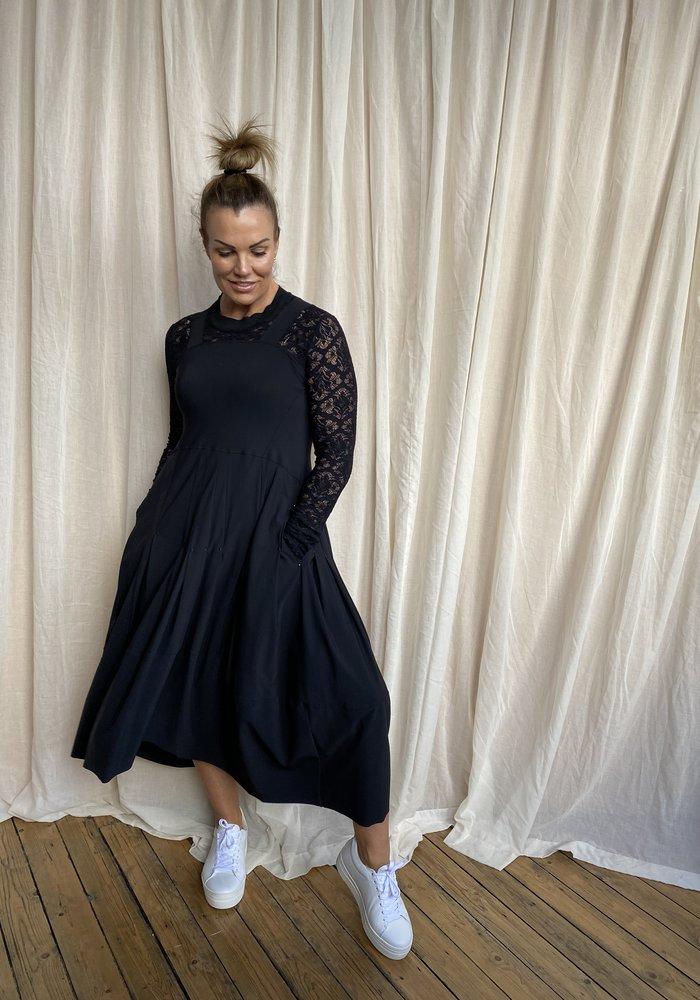 High Tech Mesmerise Lace Sleeve Dress