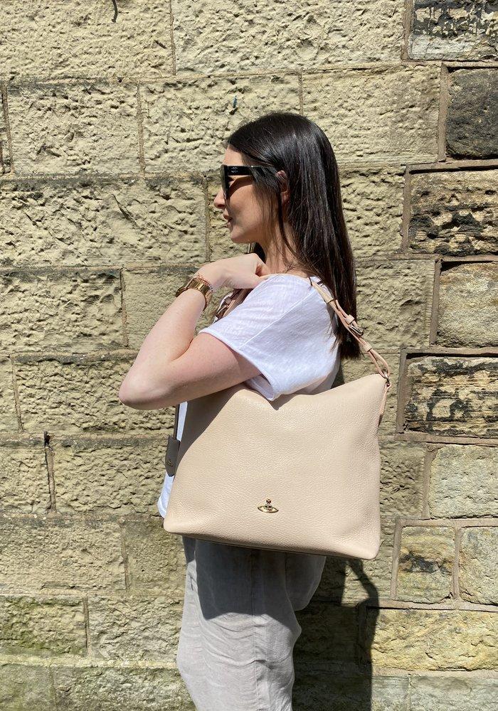Vivienne Westwood Hobo Buckle Strap Bag