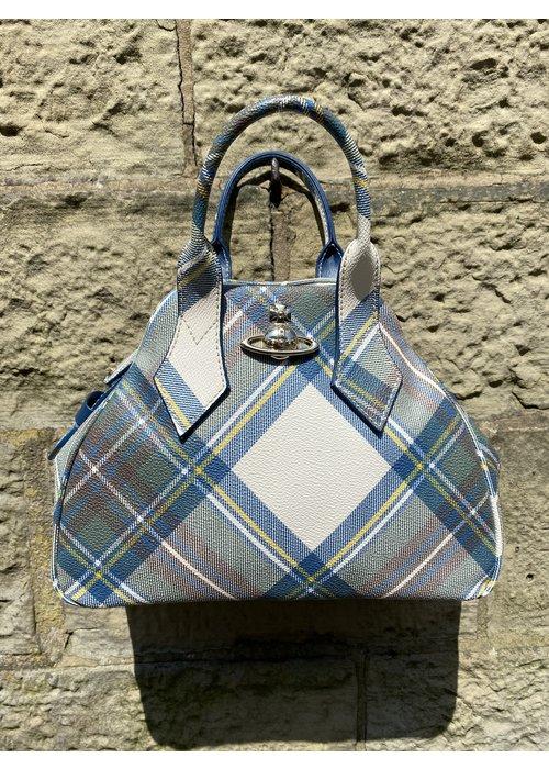 VIVIENNE WESTWOOD Vivienne Westwood Derby Tartan Medium Bag