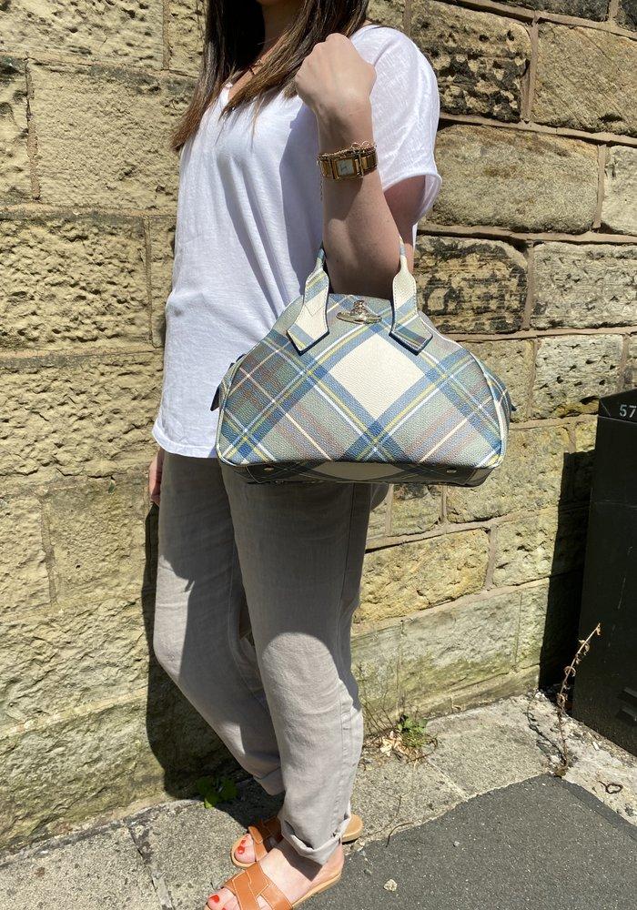 Vivienne Westwood Derby Tartan Medium Bag