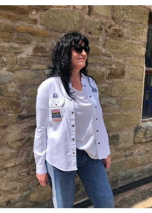 FIVE Five Utility Style Badge Shirt