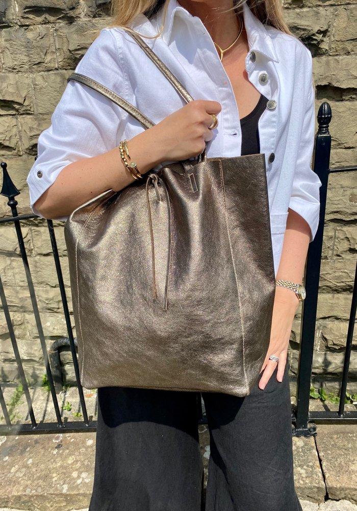 Sunday Best Leather Shopper Bag