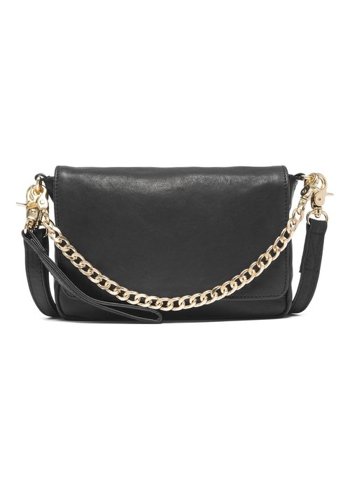 DEPECHE Depeche Front Flap Clutch with Chain