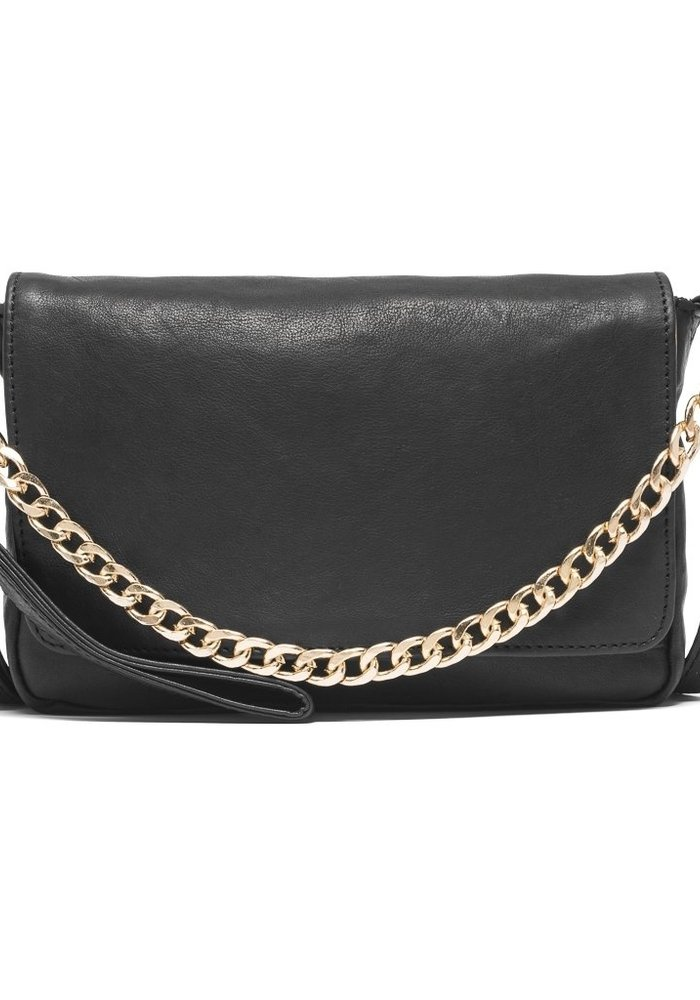 Depeche Front Flap Clutch with Chain