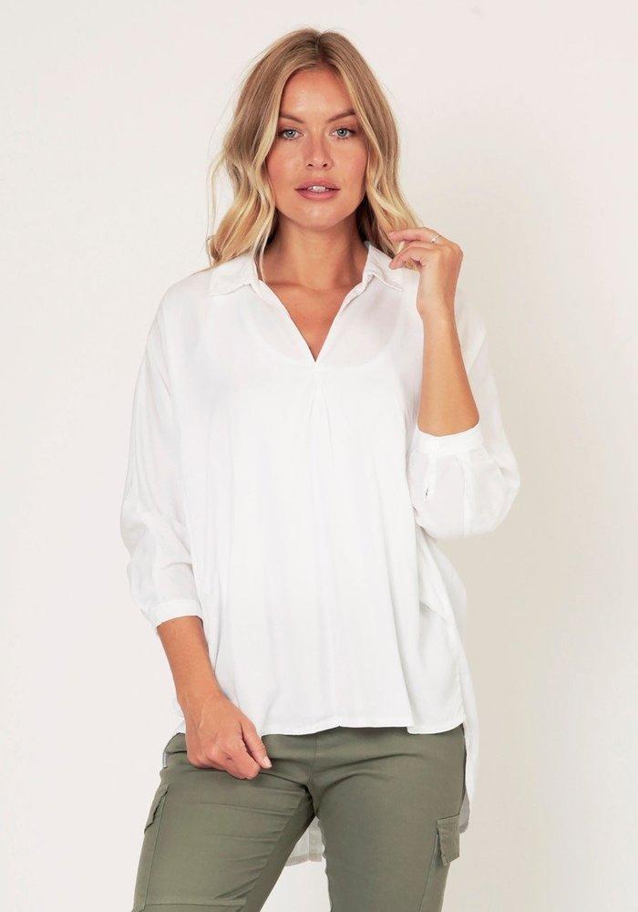 Suzy D Viscose Button Back Shirt