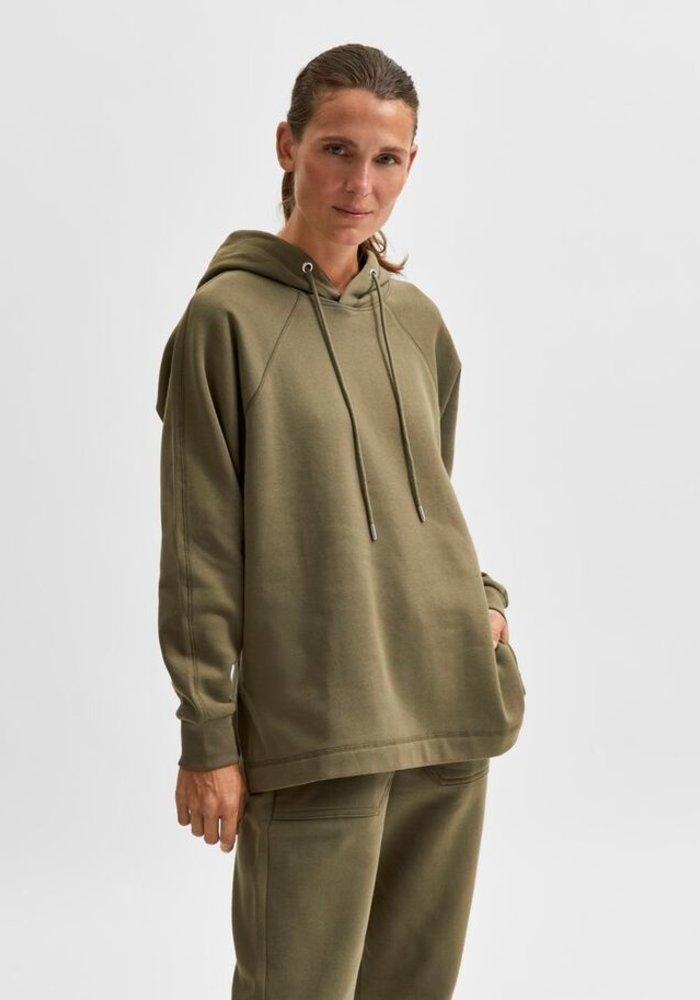 Selected Femme Stasie Hood Sweatshirt