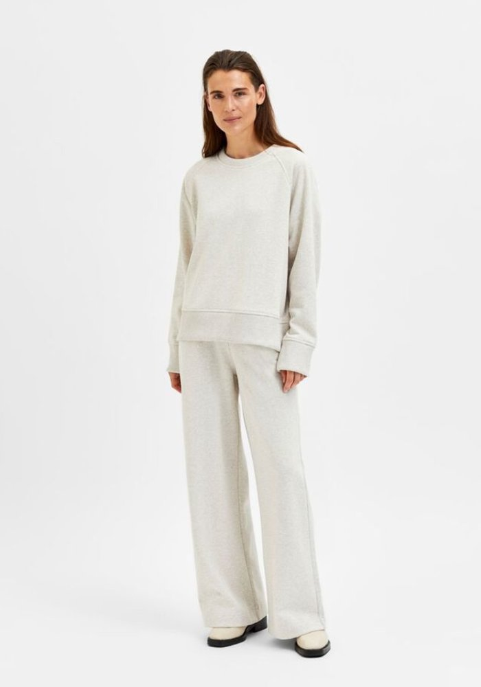 Selected Femme Liesel Wide Sweat Pant