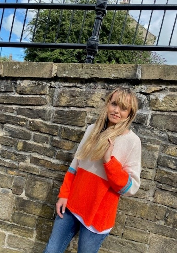 N and Willow Candy Knit Jumper