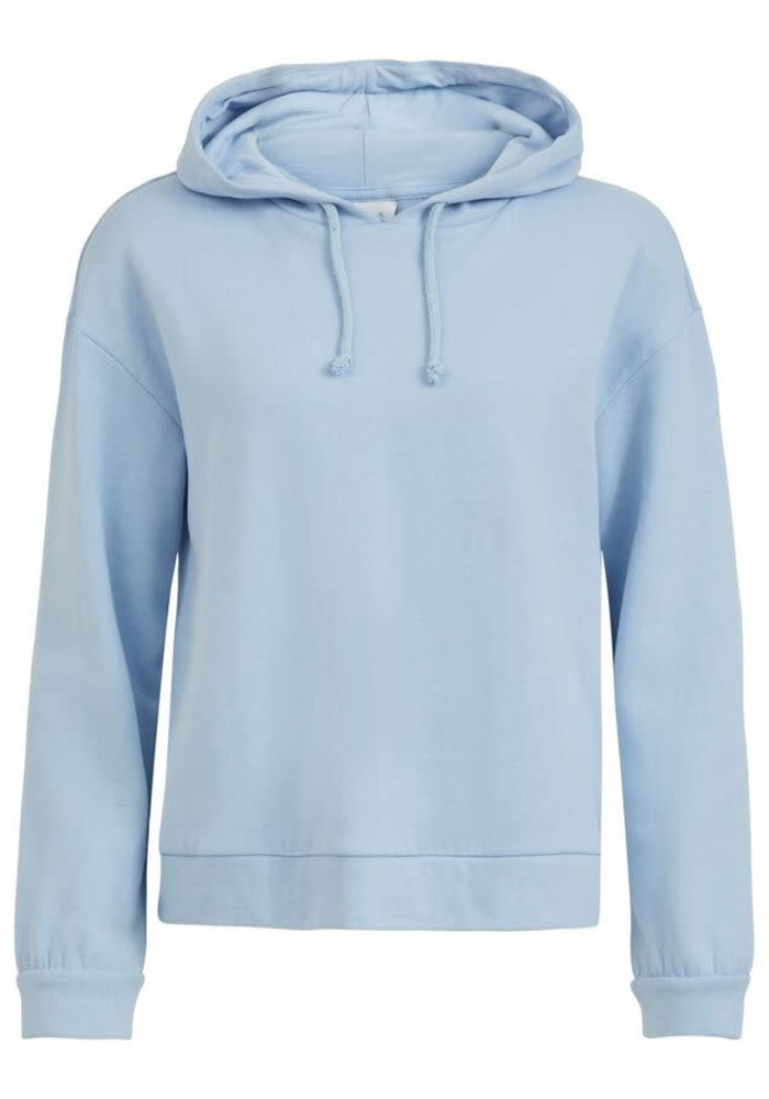 Vila Lightweight Hooded Sweatshirt