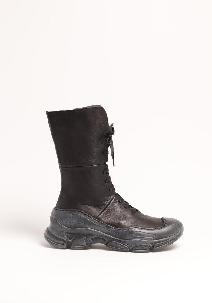 Lofina Chunky Lace Up Boots