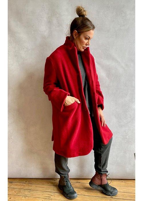 MAMA B Mama B Cannolo Wool Coat