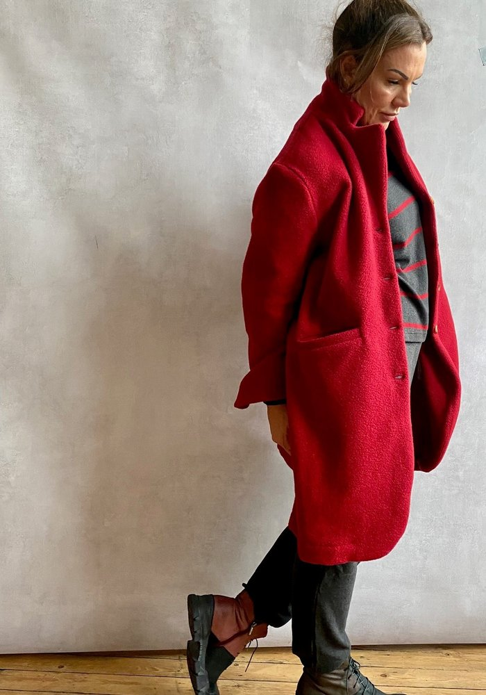 Mama B Cannolo Wool Coat