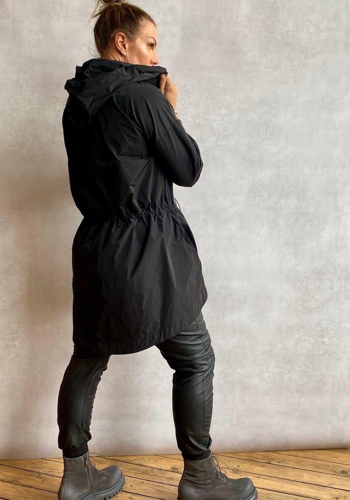 Suzy D Nylon Rain Jacket