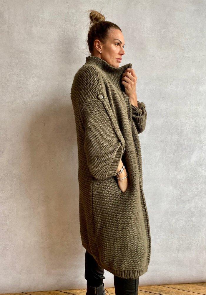 Suzy D Francisca Chunky Knit Cardigan