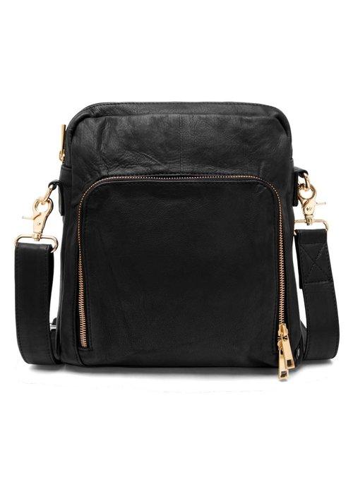 DEPECHE Depeche Cross Over Leather Bag 14916