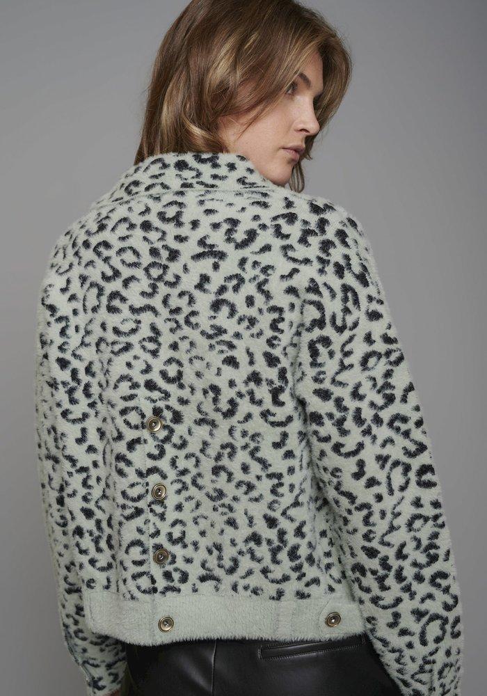 Rino & Pelle Bubbly Short Knitted Jacket