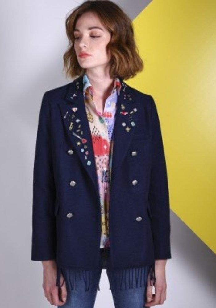 Vilagallo Tiffany Applique Jacket