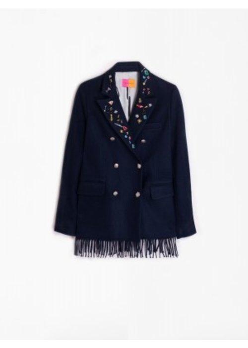 VILAGALLO Vilagallo Tiffany Applique Jacket