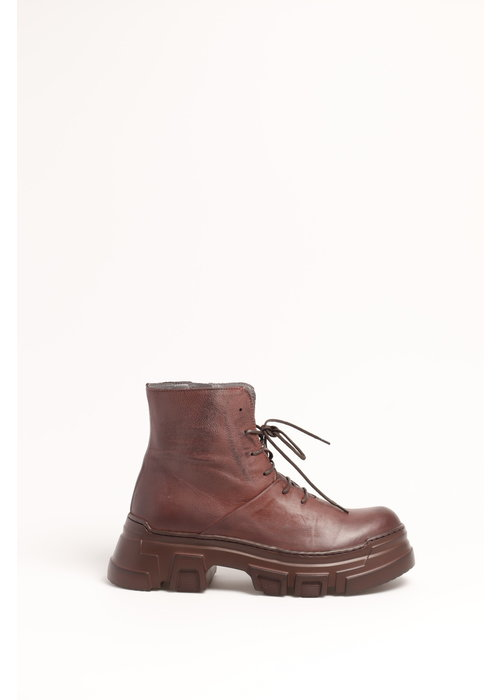 LOFINA Lofina 1043 Lace Up Leather Ankle Boots