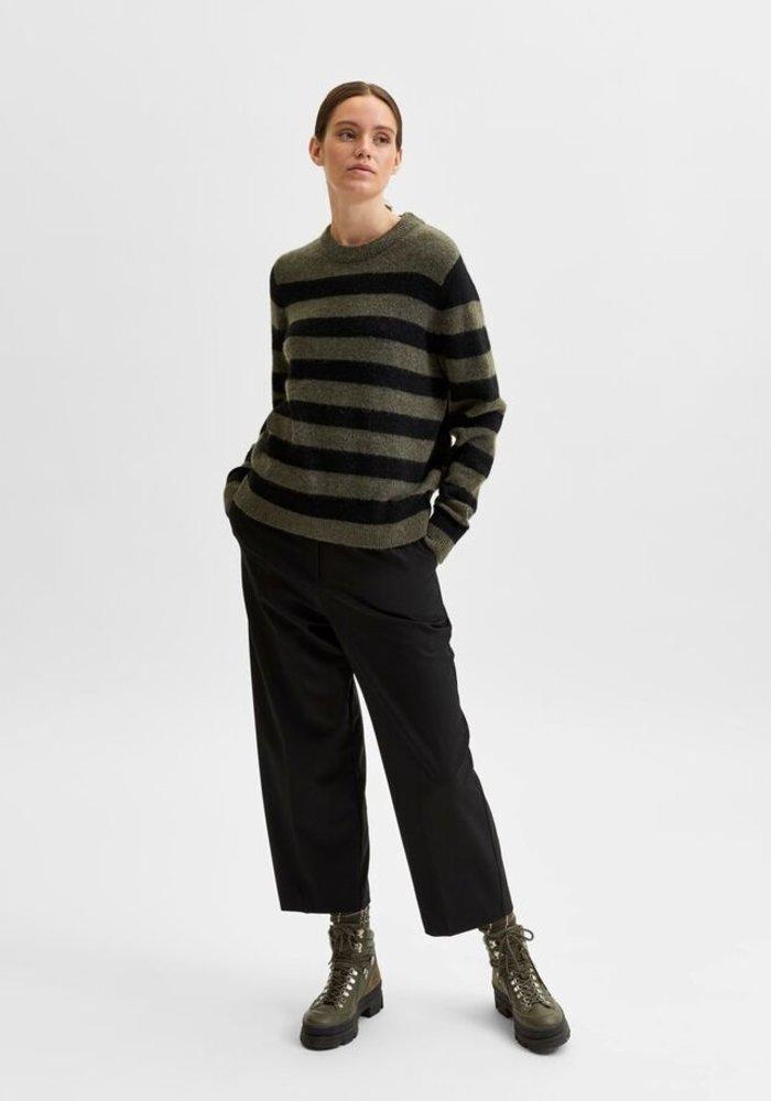 Selected Femme Grace Stripe Jumper