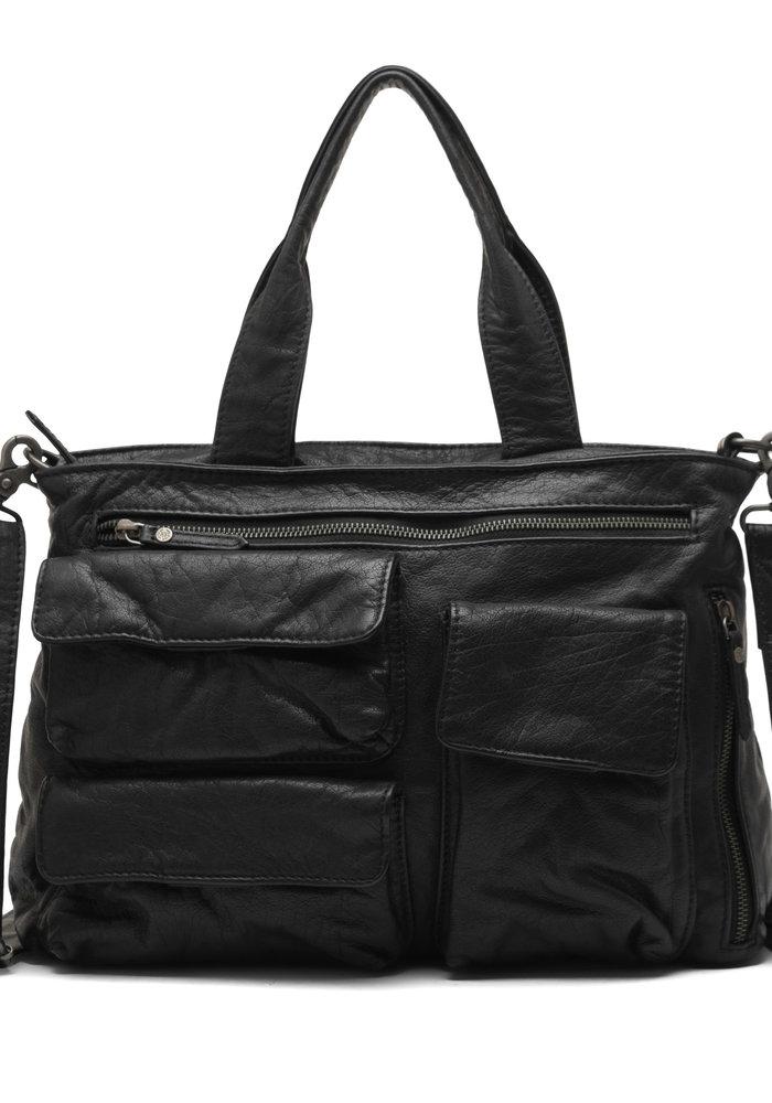 Depeche Medium Leather Pockets Bag 14942