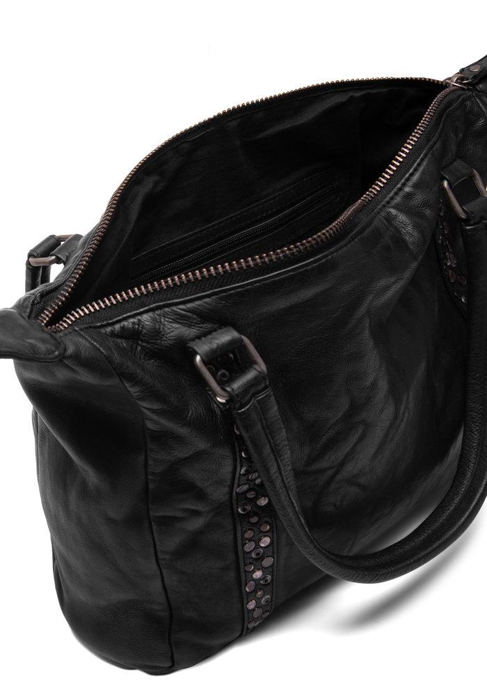 Depeche Medium Leather Stud Bag 14788