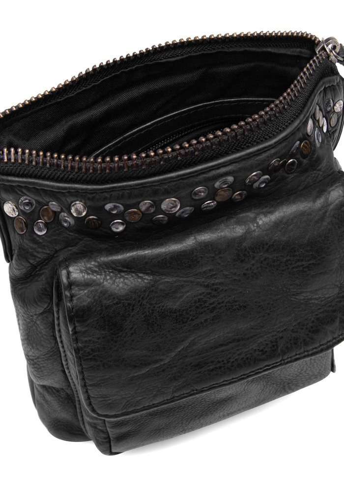 Depeche Crossover Leather Stud Bag 14784