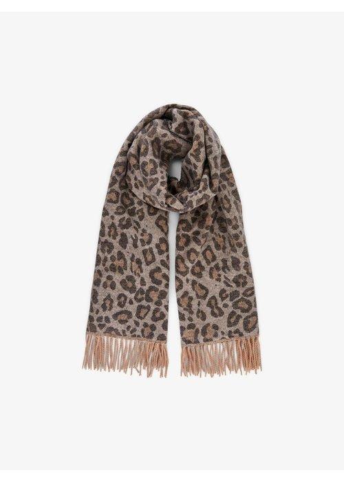 Pieces Jira Wool Leopard Scarf