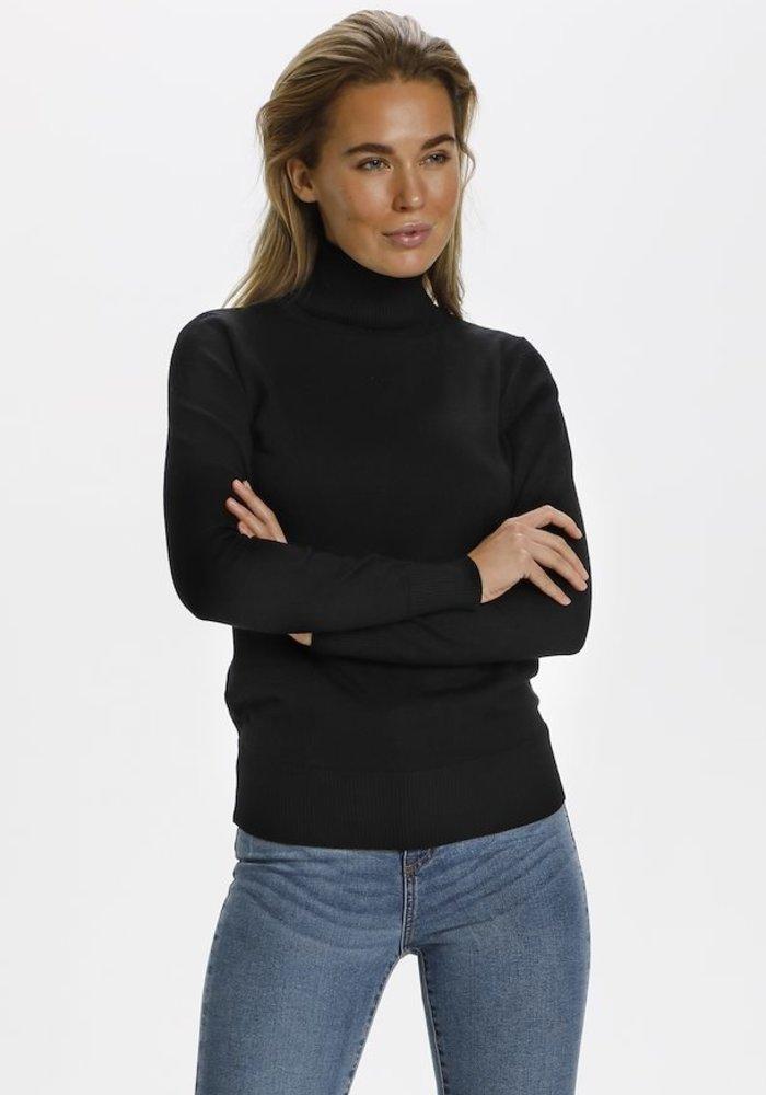 Saint Tropez Mila Polo Neck Sweater
