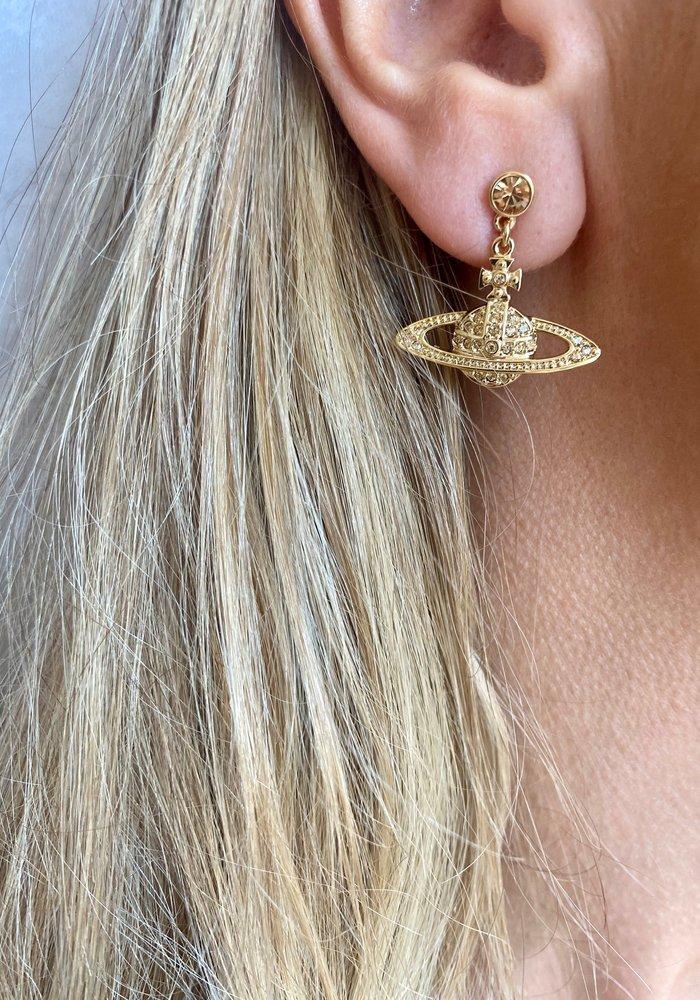 Vivienne Westwood Mini Bas Relief Drop Earrings