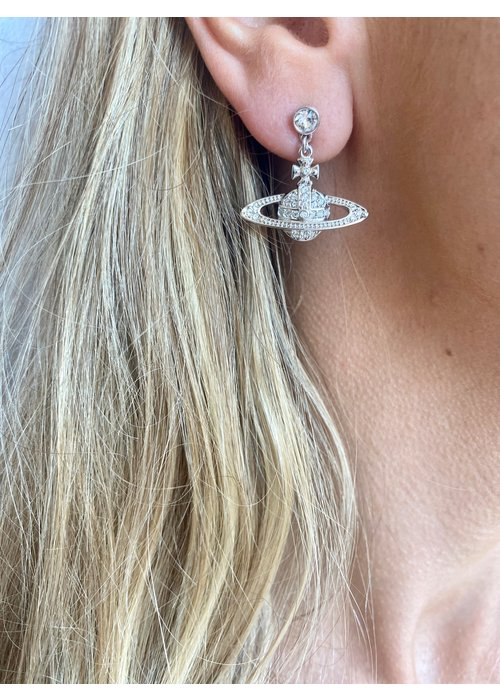 VIVIENNE WESTWOOD Vivienne Westwood Mini Bas Relief Drop Earrings