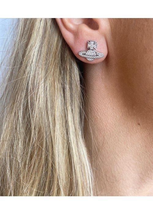 VIVIENNE WESTWOOD Vivienne Westwood Romina Pave Orb Earrings